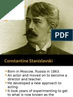 Stanislavski's Methods