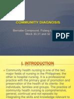 Community Diagnosis Final Ppt