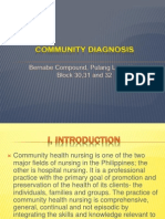 Community Diagnosis Final Ppt