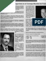 """""""México destacado protagaonista en el Consejo Mundial de Franquicias"""" 3-7 de Septiembre de 2008-Semana Nacional PyME"""