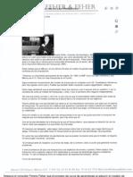 """""""Presenta Ferenz Feher el ABC de las Franquicias"""" 24 de Septiembre de 2008-Periódico A.M."""