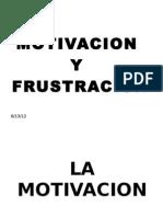 Motivacion y Frustracion[1]
