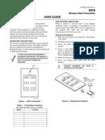 Honeywell 5878 User Guide