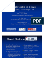 2011 Mental Health in Texas an Overview