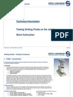 Sud-ChemieTesting Procedures - En