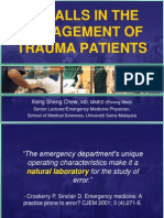 pitfallsinthemanagementoftraumapatients2-110603045042-phpapp01