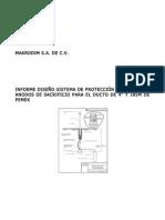 Informe Diseño SPC Ducto de 4pulg  y 185m de PEMEX