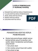 Kertas Kerja Pemeriksaan