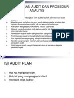 Perencanaan Audit Dan Prosedur Analitis