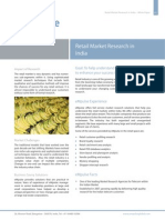 Retail Market Research India White Paper