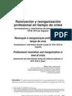 Varia Historia 42 - Artigo Veterinário, médicos e farmaceuticos na Espanha em 1918 e19