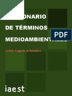 Diccionario de Terminos Medio Ambientales