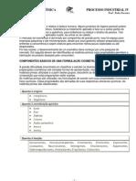 Processos industriais IV - Cosmetologia 1º Bimestre  - Química III