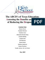 The ABCD's of Texas Education