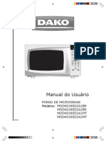 Manual Microondas Digital 18 Litros MODK018SD2A1BR