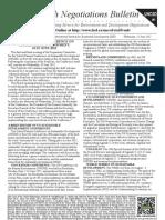 Earth Negotiations Bulletin UNCSD #1