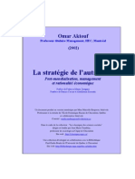 Aktouf Strategies Autruche