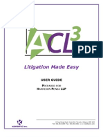 ACL 3 User Guide - Jan 2011