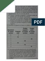 Exercício cap 6 - Produção