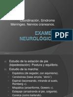 11 Examen neurológico