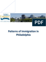 patterns of immigration in philadelphia
