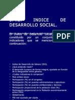 3.4.2 Indice de Desarrollo Social