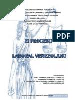 Proceso Laboral Venezolano Trabajo.