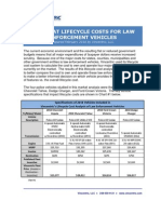Law Enforcement Lifecycle Cost Analysis- Prepared Feb 2010