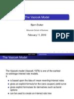 Vasicek Model, Simple