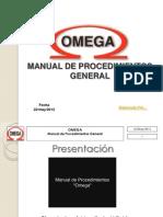 Manual de Procedimientos OMEGA