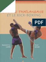 La Boxe Thailandaise Le Kick