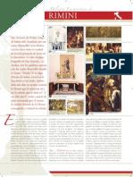 El milagro eucarístico de Rimimi, Italia - San Antonio de Padua, la mula y el heréje Bonovillo
