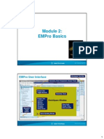EMPro Workshop - Module2 - EMPro Basics Version 2.0