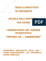 Documentazione via Adige Scienze