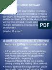 Self-Injury Behavior (SIB)