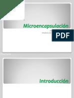 Microencapsulación UNALM