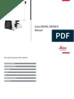 Leica DM500 Manual ES