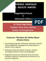 Trastornos Mentales en El Adulto Mayor 2012