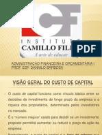 Custo de Capital