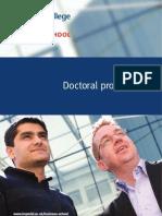 Icbs Phd Brochure