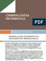 Criminalitatea informatica