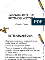 RETINOBLASTOMA, Dr Claudio Owino, Surgery