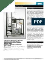 CE 620 Liquid Liquid Extractio GUNT