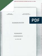 1966 Bilderberg Invitee Information