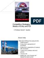 4762_16. Modes of Entry and FDI