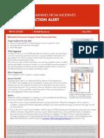 GRP-AC-201203 Corrosion Coupon Retrieval Fatality