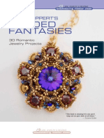 Download a PDF of Instructions From the Book to Make Sabines Purple Rope Necklace.