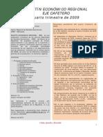 Boletín Económico del Quindío 4to semestre 2009
