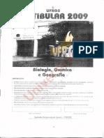 Ufrgs 2009 Prova de Biologia