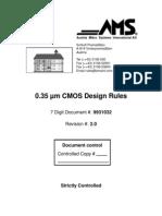 Regras de Projeto AMS CMOS 0.35